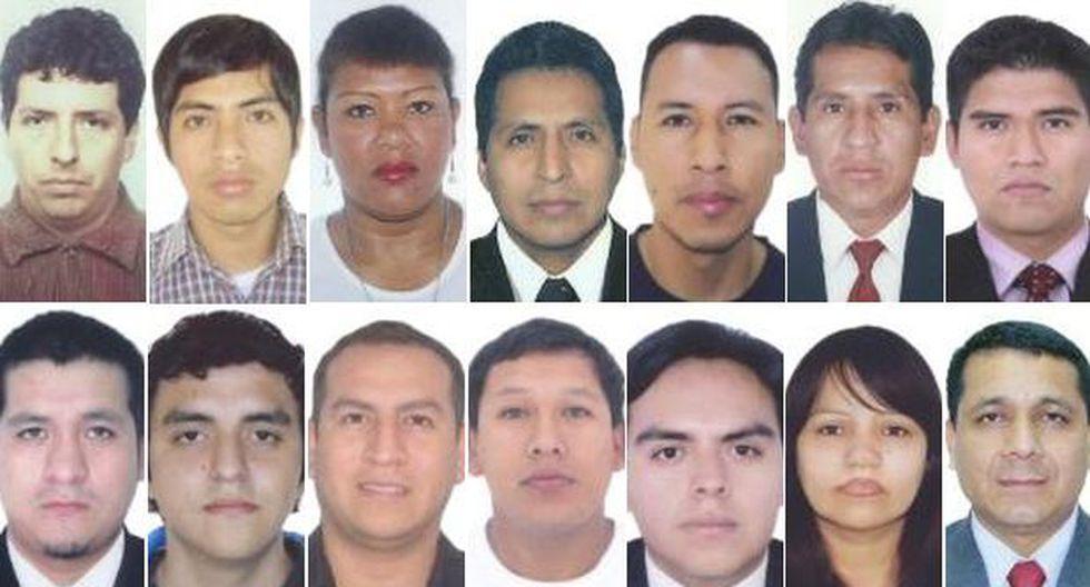 Los 14 candidatos en Lima Metropolitana con sentencia vigente