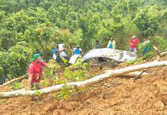 Huánuco: una persona murió tras ser arrastrado por un huaico