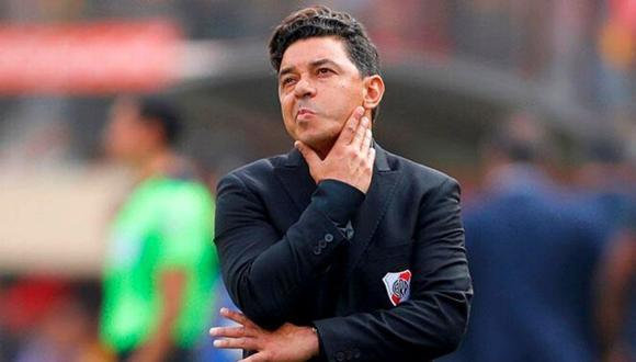 Marcelo Gallardo habló sobre su continuidad en River Plate.