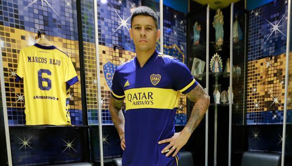 Marcos Rojo es el primer refuerzo de Boca Juniors para este 2021. (Foto: Boca Juniors)