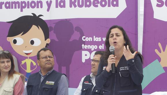 Ministra Inspeccionó hospital del INEN. (Foto: El Comercio)