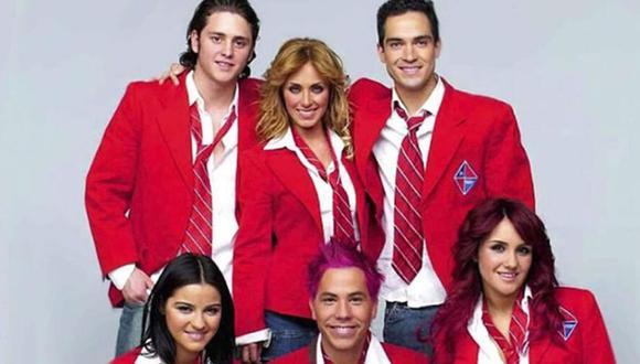 La agrupación surgió en la telenovela 'Rebelde', en el año 2004 y se convirtió en todo un fenómeno musical.  (Foto: Televisa)
