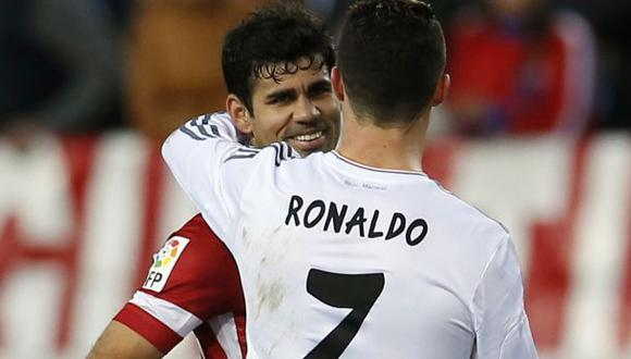 Cristiano vs. Costa: así los vimos en el Atlético-Real Madrid