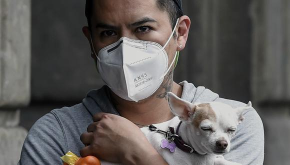 La pandemia no sólo afecta al ser humano, también a los perros. (Foto: AFP)
