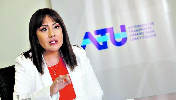 se desvinculó en el 2019, cuando asumió como ministra de Transportes y Comunicaciones, de la empresa que formó, Jara Consulting Group, y que le ha explicado el caso al actual titular del MTC, Carlos Lozada (Foto: cortesía)