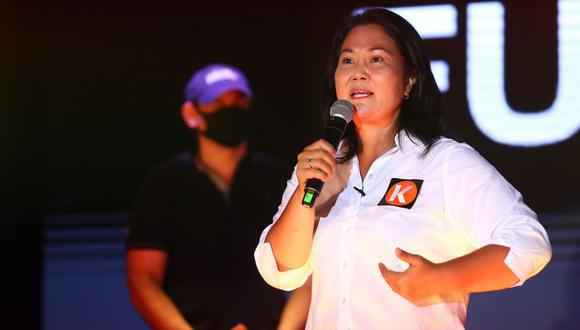 Keiko Fujimori también da a conocer sus propuestas en relación al sector minero y turístico. (Foto: Hugo Pérez | GEC)