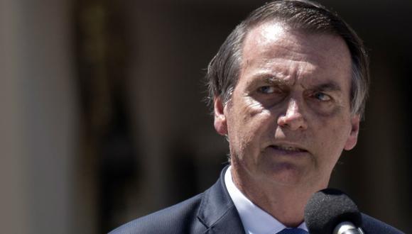 """El deseo de Bolsonaro de explotar la región de la Amazonía conjuntamente con Estados Unidos fue considerado por Greenpeace como un """"insulto"""" a la soberanía nacional. (Foto: AFP)"""