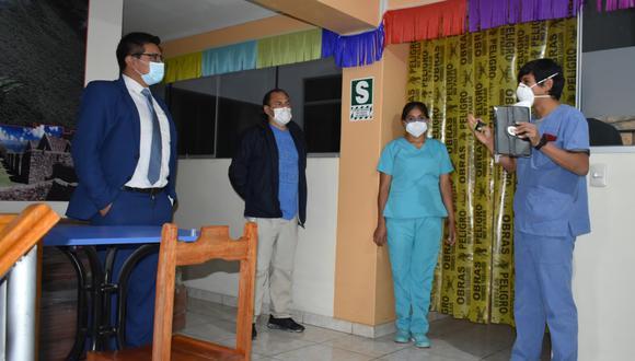 Diresa pone en funcionamiento centros de atención temporal para pacientes COVID-19 en la provincia de Ucayali, región Apurímac. (Foto: Gore Apurímac).