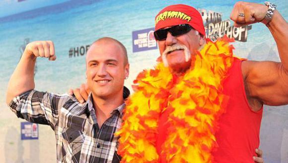 Filtran fotos íntimas del hijo de Hulk Hogan