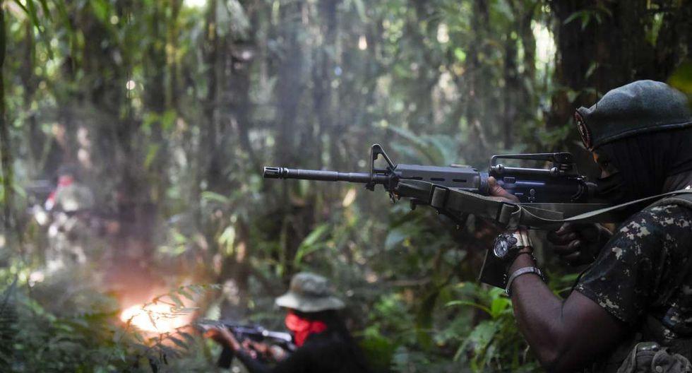 El ELN aprobecha la selva espesa del Chocó, donde se trafica con madera, cocaína, oro y platino. (Foto: AFP)