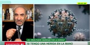 Salud: Dr Huerta explica la relación de la COVID-19 con la sangre