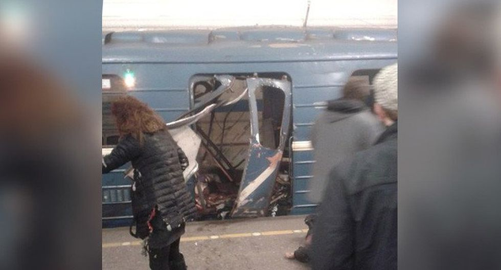 Rusia: Tragedia en el metro de San Petersburgo [FOTOS] - 2