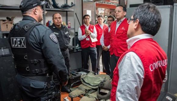 UDEX: Contraloría investiga si trajes y equipos son seguros