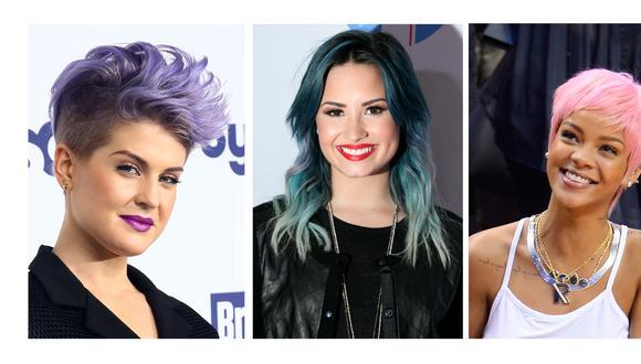 «Pony hair»: Crea un arcoíris en tu pelo