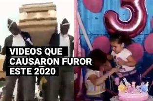 Videos que causaron furor este 2020
