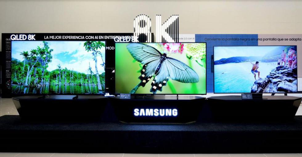 El televisor QLED 8K que ofrece una resolución de 7680 × 4320 pixeles. (Foto: Difusión)