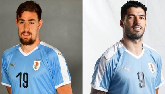 Luis Suárez y Sebastián Coates no jugarán ante Perú por las Eliminatorias Sudamericanas. (Foto: AUF)