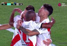 River Plate vs. Rosario Central: Gonzalo Montiel canjeó penal por gol para el 2-0 del 'Millonario'   VIDEO