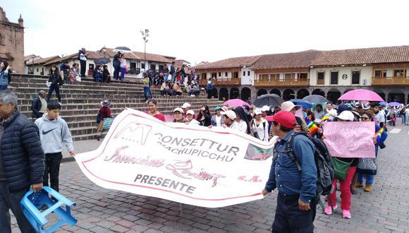 Cabe recordar que la vía Hiram Bingham es operada únicamente por Consettur desde el año 1995, y que la comuna de Machu Picchu Pueblo es, además, accionista a través de la empresa Tramusa. (Foto: Miguel Neyra)