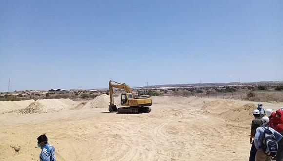 Piura: Beneficencia habilita terreno para enterrar a 700 fallecidos por COVID-19.