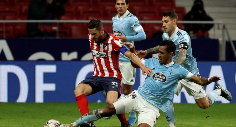 Renato Tapia jugó 32 partidos en la temporada 2020-21 con el Celta de Vigo. (Foto: EFE)