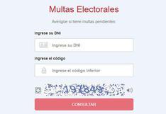 Elecciones 2021: consulta aquí si tienes multas electorales pendientes de pago