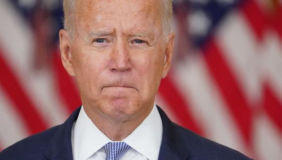 El presidente de Estados Unidos, Joe Biden, pronunciará un discurso sobre la situación en Afganistán tras la toma del país por parte de los talibanes. (MANDEL NGAN / AFP).