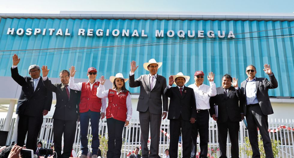 El hospital de Moquegua se inauguró el pasado 22 de noviembre, más de tres años después del plazo original establecido. El presidente Martín Vizcarra asistió a la ceremonia. (Foto: Presidencia de la República)