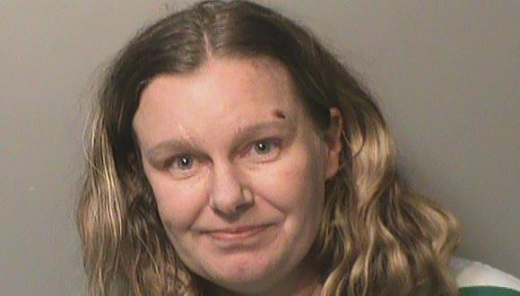 Nicole Poole Franklin, de 43 años, presentó su declaratoria de culpabilidad el miércoles en una corte federal de Des Moines. (Polk County Jail/AP).