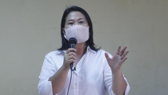 """Fujimori Higuchi ratificó su """"absoluto compromiso con la democracia"""" y recordó que pese a las diferencias que ha tenido con la prensa nunca ha buscado limitar la libertad de expresión. (Foto: Archivo GEC)"""