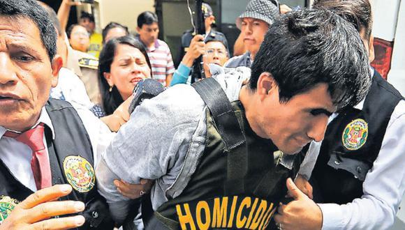 Juan Huaripata, de 28 años, apuñaló a su pareja Jesica Tejeda y mató a dos de sus hijos, en la madrugada el último domingo, en El Agustino. (Joseph Ángeles/GEC).