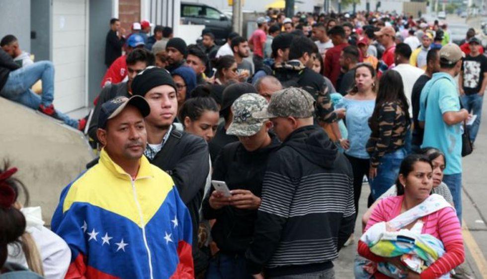 Los venezolanos que laboran en Perú equivalen al 50,4% de extranjeros con empleo formal.