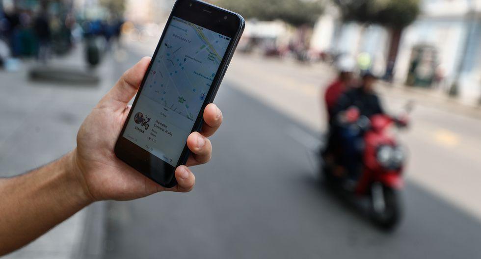 El MTC publicó un decreto supremo que prohíbe el servicio de 'taxi' en moto y dispone el bloqueo de aplicaciones y webs que lo publiciten. (Archivo)