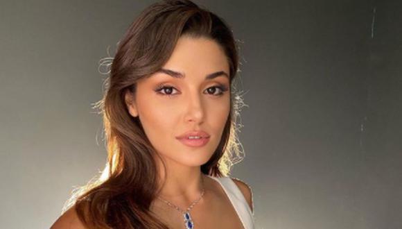 """La actriz turca se hizo conocida internacionalmente por su papel de Eda Yildiz en """"Love Is in the Air"""" (Foto: Instagram/Hande Erçel)"""