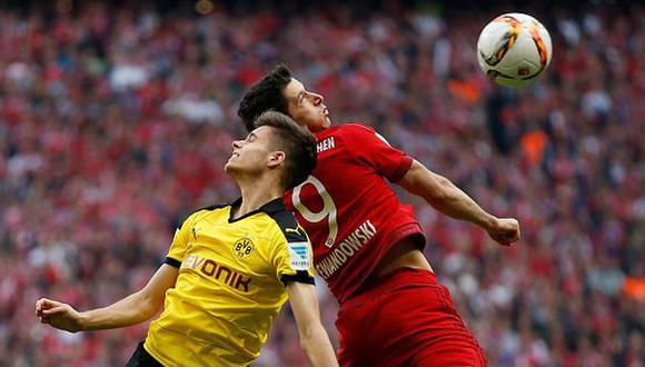 Bayern Múnich igualó ante 0-0 Borussia Dortmund por Bundesliga