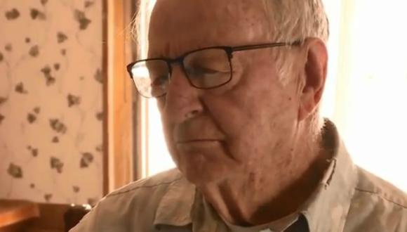 Derlin Newey es un repartidor de pizza de 89 años que recibió una entrega sorpresa de unos clientes: una propina de 12 mil dólares. (Foto: @KSL_AlexCabrero / Twitter)