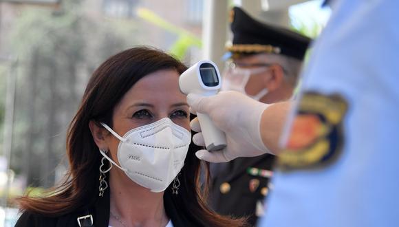 Coronavirus en Italia | Ultimas noticias | Último minuto: reporte de infectados y muertos hoy miércoles 27 de mayo del 2020. | Covid-19 | (Foto: (Photo by Tiziana FABI / AFP).