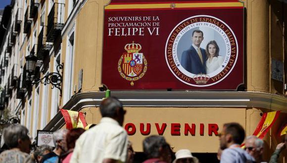 España: Refuerzan la seguridad en Madrid para proclamación real