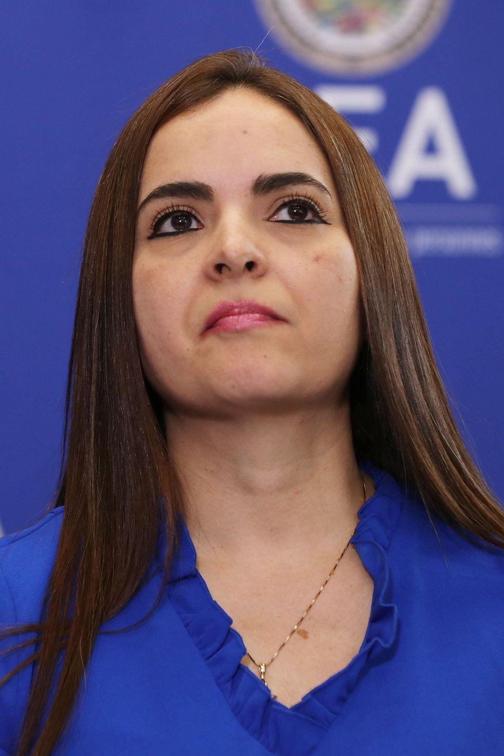 Tamara Suju, abogada venezolana defensora de los derechos humanos. (AFP).