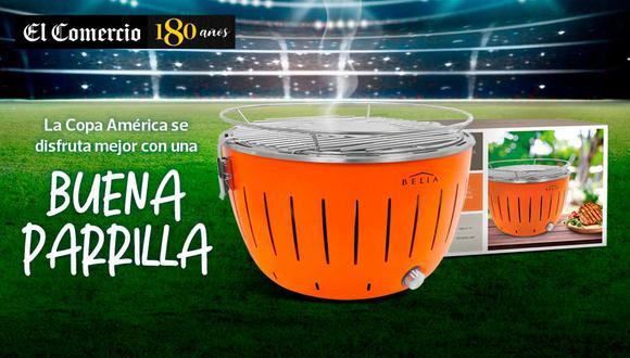 Disfruta esta copa américa brasil 2019 con una buena parrilla.