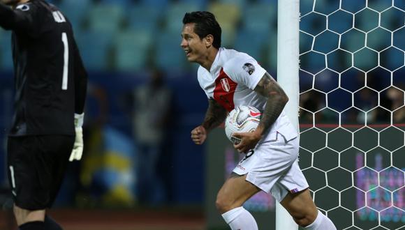 Gianluca Lapadula suma dos goles en lo que va de la presente Copa América. (Foto: AFP)