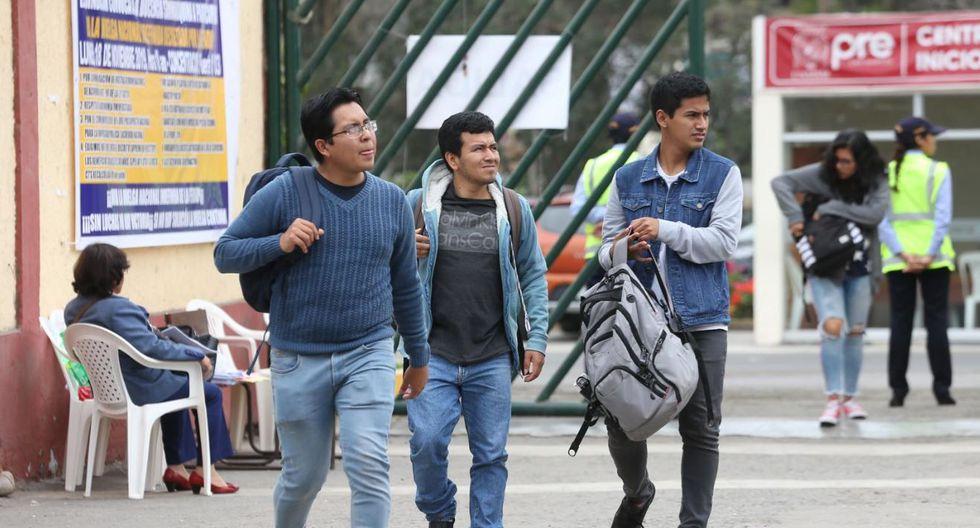 Las actividades en universidades públicas y privadas fueron suspendidas el jueves 12 de marzo por el Ministerio de Educación. (Foto: GEC)