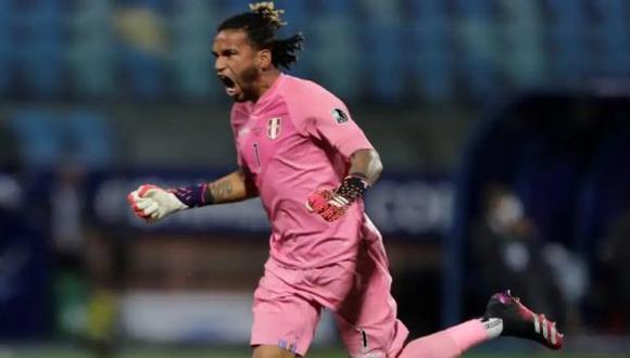 Pedro Gallese valoró la campaña de la selección peruana en la Copa América. (Foto: EFE)