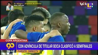 Con Luis Advíncula de titular, Boca Juniors clasificó a semifinales