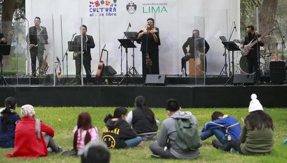 Estas actividades culturales se desarrollan con público y protocolos correspondientes | Foto: Ministerio de Cultura
