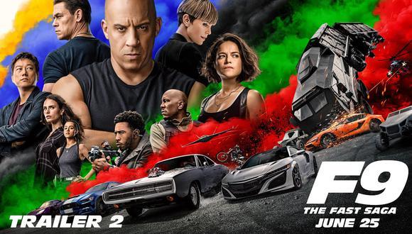 """Dominic Toretto, Letty, Mia, Roman, Tej, Ramsey e, incluso, Han, están de vuelta para la novena entrega de """"Rápidos y furiosos"""" (Foto: Universal Pictures)"""