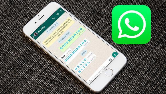 ¿Quieres tener las letras celestes en WhatsApp? Aprende este genial truco. (Foto: Mockup)