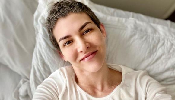 La actriz Anahí de Cárdenas es una sobreviviente del cáncer de mama.  (Fotos: Instagram / @anahidec).