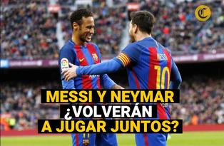Lionel Messi y Neymar: ¿volverá a jugar juntos?
