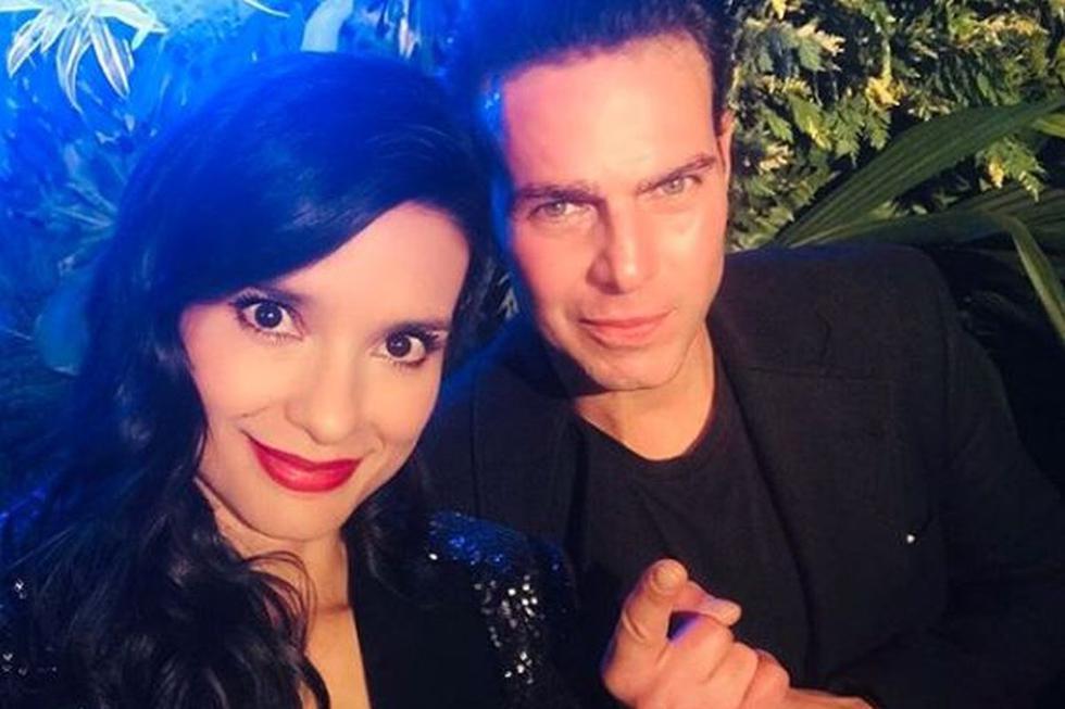 """Después de """"Pasión de gavilanes"""", Paola Rey y Juan Alfonso Baptista coincidieron en """"La mujer en el espejo"""" (Foto: Instagram)"""